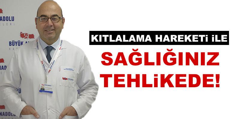 Büyük Anadolu Hastaneleri'nden 'Kıtlatma' uyarısı