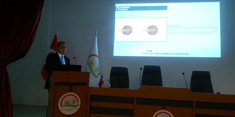 Büyük Anadolu Hastanesi'nden glokom konulu seminer