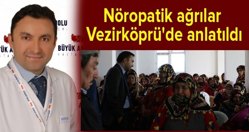 Büyük Anadolu Hastaneleri'nden Vezirköprü'de sağlık konferansı