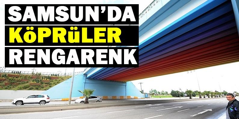 Büyükşehir Belediyesi'den köprülere estetik dokunuş