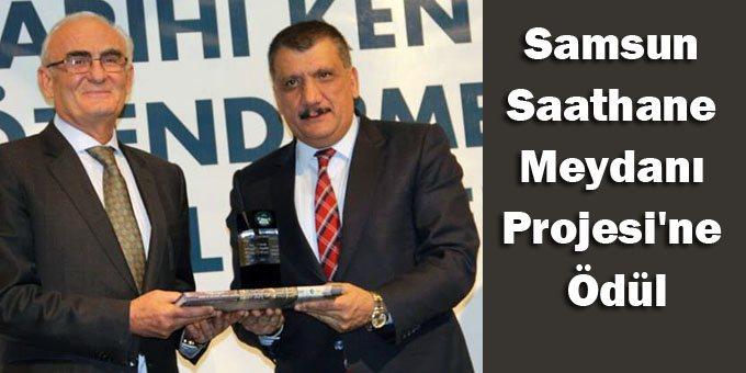 Büyükşehir'e bir ödülde Sahathane Meydanı Projesi'nden