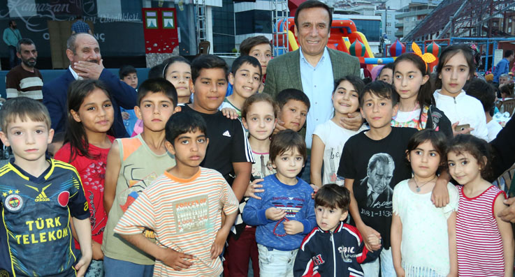 Canik Belediyesi 7'den 77'ye herkesi buluşturdu