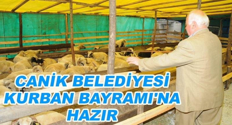 Canik Belediyesi Kurban Bayramı'na hazır