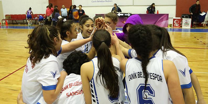 Canik Belediyespor Samsun şampiyonu oldu