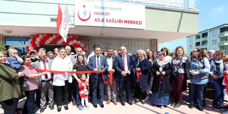 Canik İlçesi'ne yeni sağlık merkezi