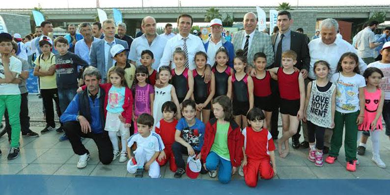 Canik'te 'Ailemle Spor Yapıyorum' etkinliği