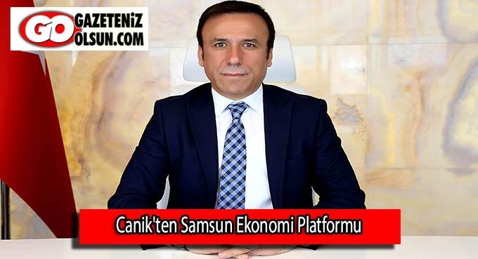 Canik'ten Samsun Ekonomi Platformu