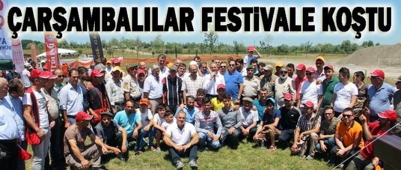 Çarşamba'da Rahvan At Yarışları ile Avcı ve Doğa Festivali