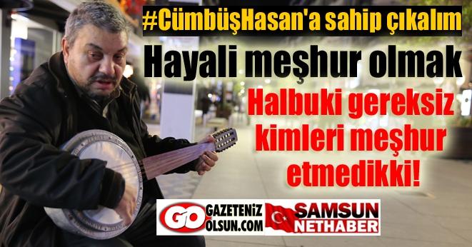 Cümbüş Hasan 40 yıldır sokaklarda şarkı söylüyor