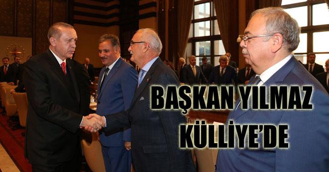 Cumhurbaşkanı Erdoğan Belediye Başkanları'nı Külliye'de topladı