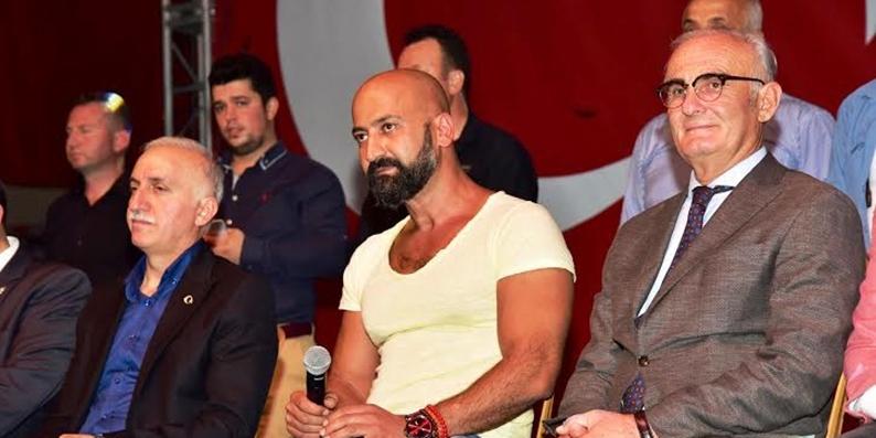 Darbe girişiminin sembollerinden olan Metin Moğan Samsun'da nöbet tuttu