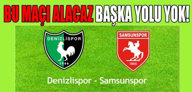 Denizlispor Samsunspor maçı ne zaman, hangi kanalda?