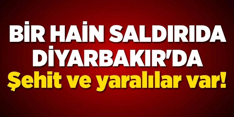 Diyarbakır Silvan'da 1 asker şehit oldu 6 asker yaralı