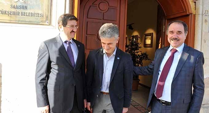 DKMP Genel Müdür Yardımcısı Yıldırım Genel Sekreter Öncel'i ziyaret etti