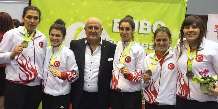 Elif Güneri Avrupa Şampiyonu oldu!