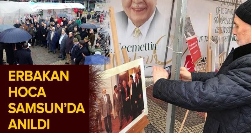 Erbakan Hoca Samsun'da anıldı