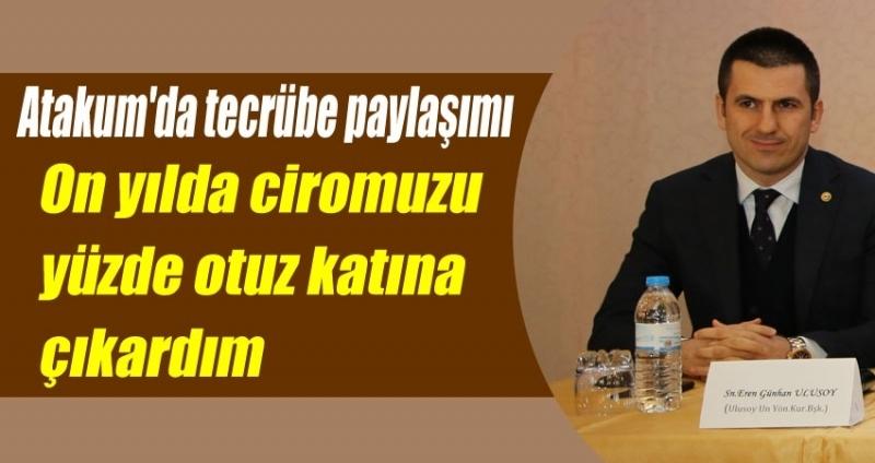Eren Günhan Ulusoy Atakum'da başarı hikayesini anlattı