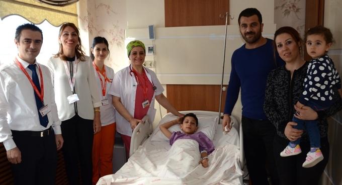 Fatih Atlı'nın oğlu Halil Eğmen erkekliğe ilk adımı Medical Park'ta attı