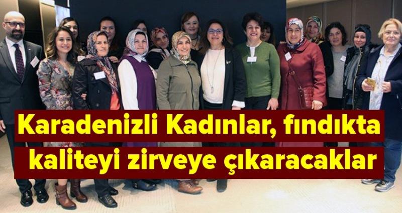 Ferrero Fındık'tan çiftçi kadınlara eğitim programı