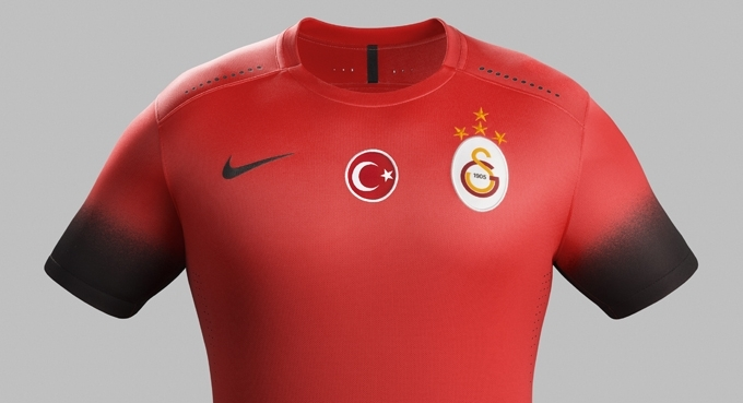Galatasaray'ın 3. forması tanıtıldı