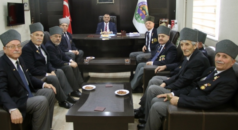 Gaziler'den Başkan Akgül'e ziyaret
