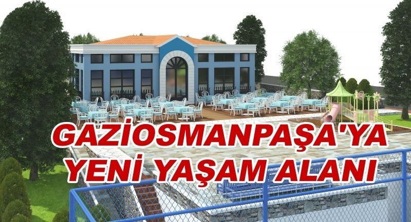 Gaziosmanpaşa'ya yeni yaşam alanı