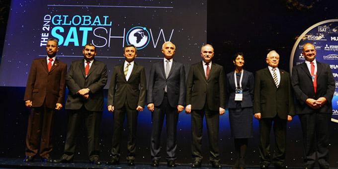 Global Satshow Haliç Kongre Merkezi'nde başladı