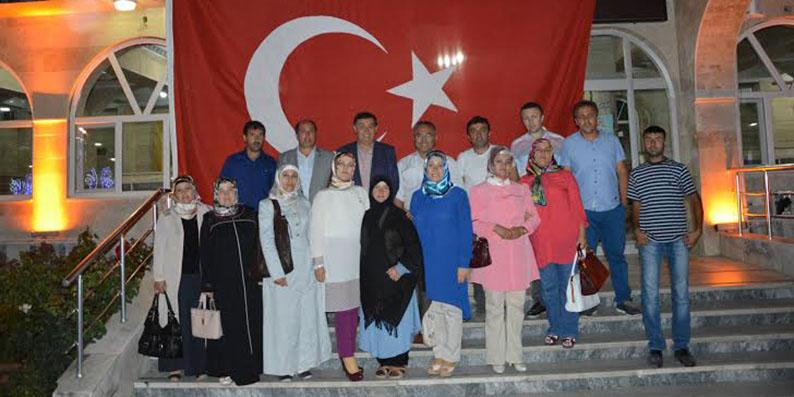 HADEF'ten Havza'daki demokrasi nöbetine destek