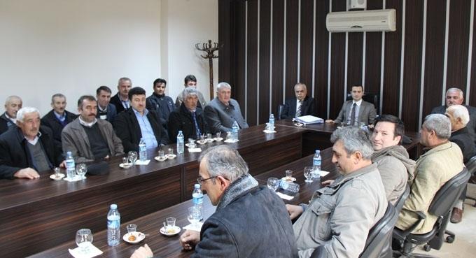 Hamamözü'nde Köylere Hizmet Götürme Birliği toplantısı düzenlendi