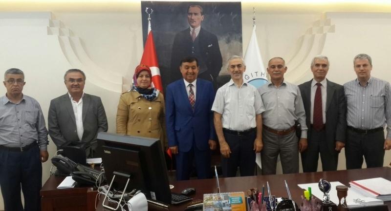 Havza Belediye Başkanından Kağıthane Belediyesine ziyaret