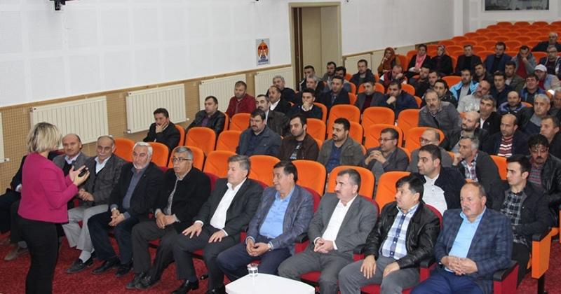 Havza personeline Hizmet içi eğitim semineri verildi