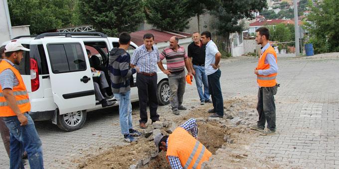 Havza'da doğalgaz çalışmalarında sona gelindi