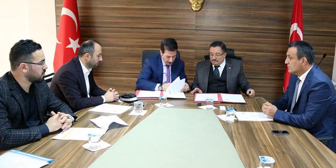 İlkadım'da 'Mesleki Eğitim İşbirliği' protokolü İmzalandı