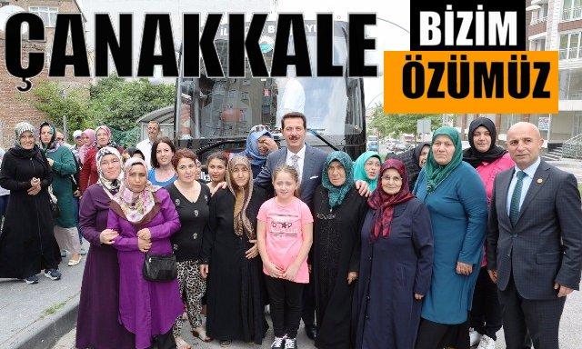İlkadım'dan Çanakkale ve Bursa Gezisi sürüyor