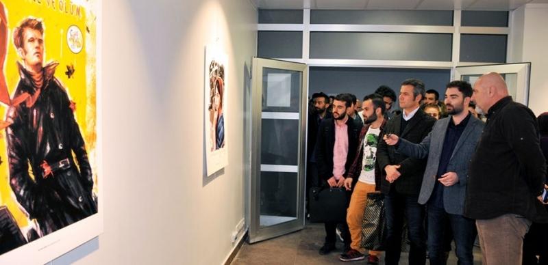 İllüstrasyon ve Grafik Tasarım Sergisi GSF Sanat Galerisi'nde Açıldı