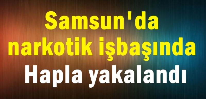 İstanbul Samsun hattında uyuşturucu sevkiyatı!