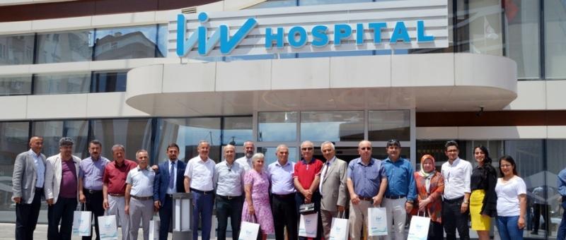 KADEF'ten Liv Hospital'a ziyaret