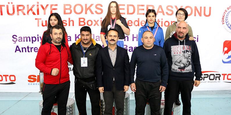 Kadınlar türkiye Boks şampiyonası tamamlandı