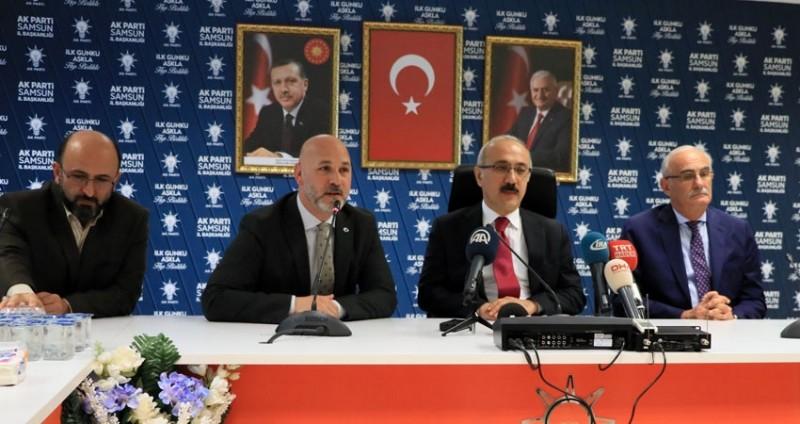 Kalkınma Bakanı Lütfi Elvan Samsun'da