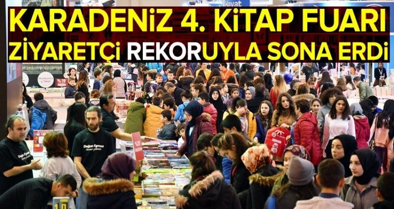 Karadeniz Kitap Fuarı rekor kırdı!