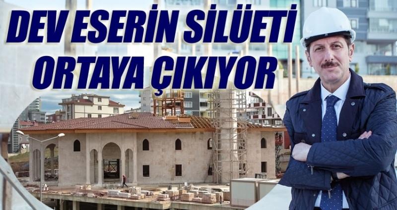 Karadeniz'in en büyüğü İlkadım'da yükseliyor