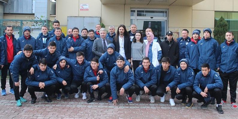 Kırgızistan ekibi Samsun'da kamp yapıyor
