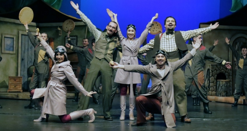 Kurbağa Öyküleri müzikali Samsun'da kapalı gişe oynuyor!