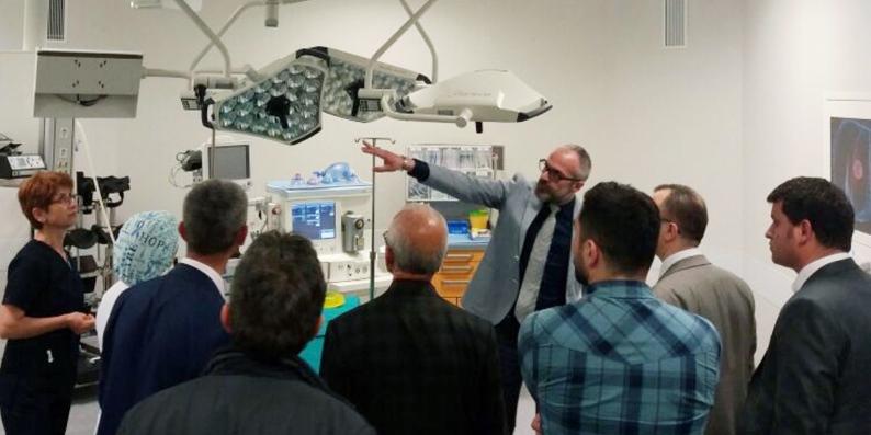 Liv Hospital Hastaneleri'nin üçüncüsü Samsun'da açılıyor