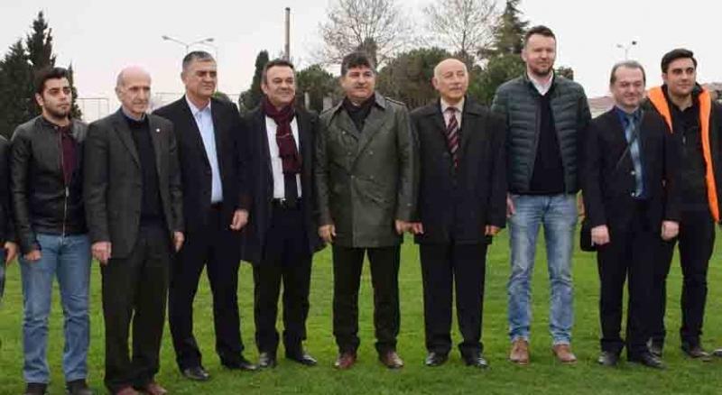 Makina Mühendisleri'nden Samsunspor'a ziyaret