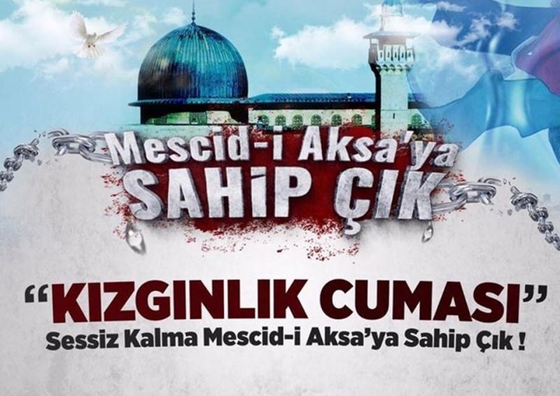 Mescid-i Aksa'ya Müslümanların alınmamasına tepki