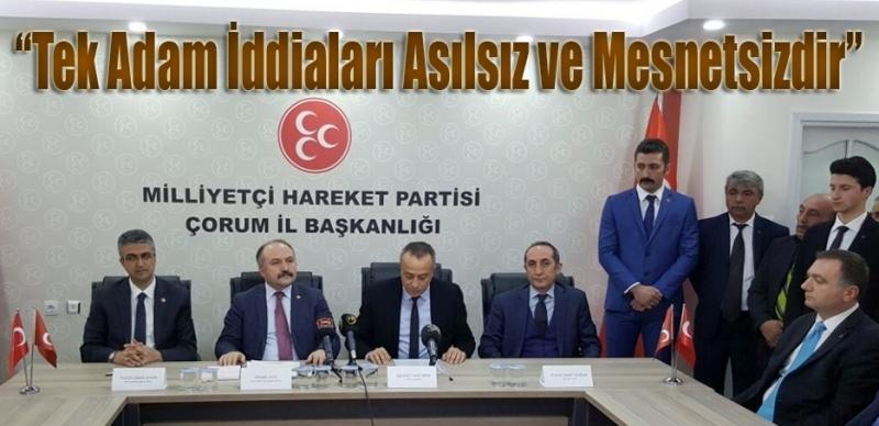 MHP Referandum için start verdi