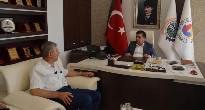 Milletvekili Demircan Çarşamba'da STK ve esnafla buluştu