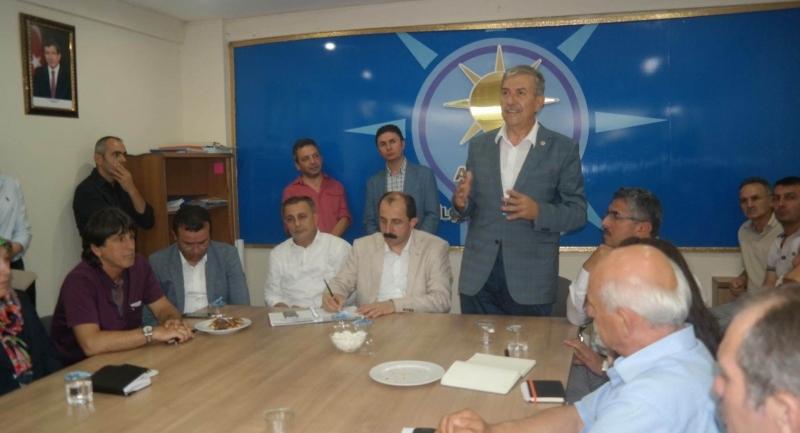 Milletvekili Demircan ziyaretlerine devam ediyor