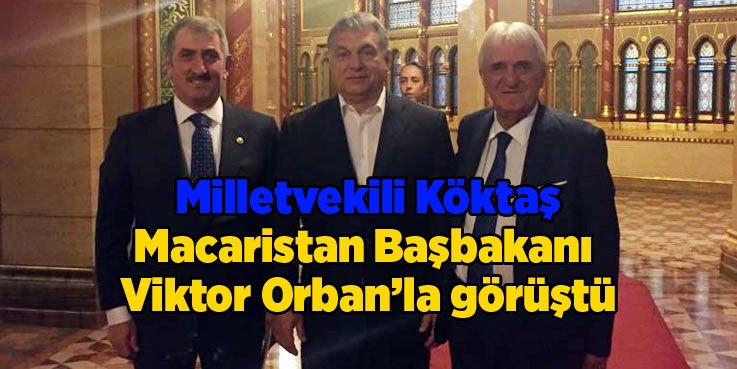 Milletvekili Fuat Köktaş Macaristan'da